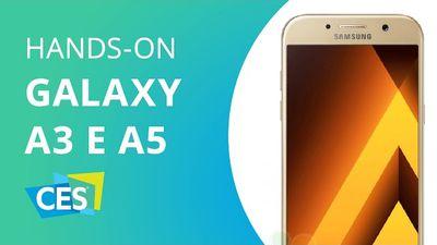 Samsung Galaxy A3 e A5 (2017) [CES 2017]