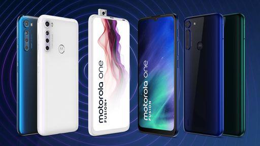 Motorola One Fusion e Fusion+ chegam ao Brasil com preços a partir de R$ 1.799