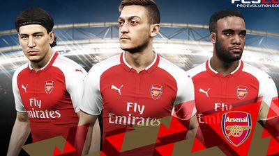 Konami fecha parceria com Arsenal para PES 2018