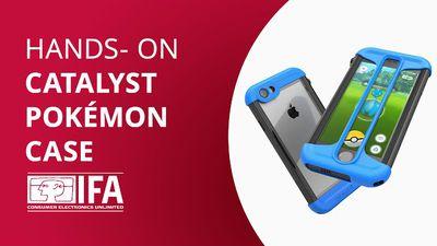 Case/capinha especial para Pokémon GO [Hands-on IFA 2016]