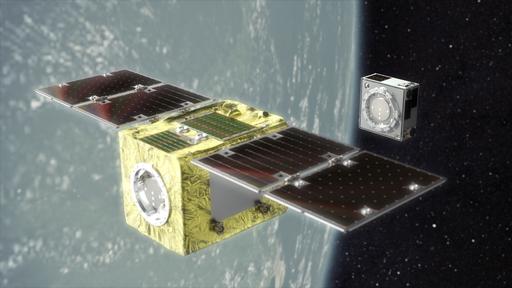 Satélite que removerá lixo espacial é testado com sucesso na órbita da Terra
