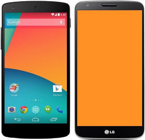Nexus vs LG G2