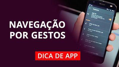 Como usar gestos como OnePlus 6 e iPhone X em qualquer Android #DicaDeApp