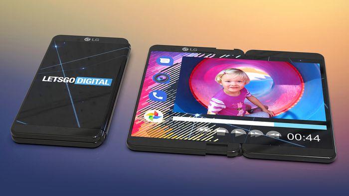 Patentes da LG trazem telefones com tela enrolável e design de pergaminho