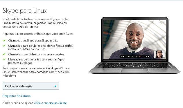 06 - Skype para linux