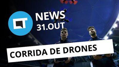 Corrida de drones em SP, volta do MegaDrive, campeonato de Counter Strike e + [C
