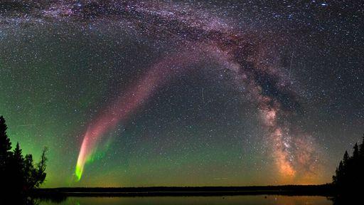 Fenômeno STEVE se difere ainda mais das auroras do que os cientistas esperavam