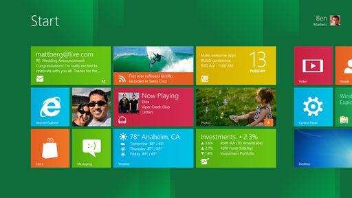 Microsoft anuncia o lançamento do Windows 8 para outubro deste ano