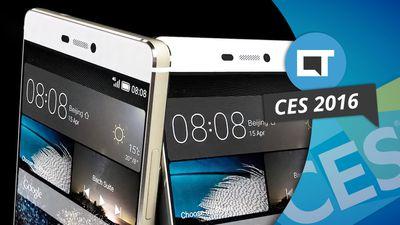 CES 2016: Huawei apresenta o novo Mate P8