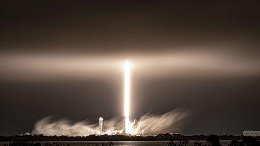 SpaceX lança mais 60 satélites Starlink e pousa propulsor de foguete pela 8º vez
