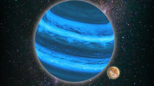 Luas de exoplanetas gigantes podem ter condições para o surgimento da vida