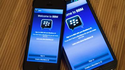 Icônico BlackBerry Messenger será desativado em maio