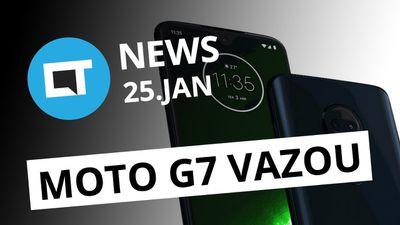 Motorola Brasil vaza Moto G7; Facebook vai encerrar app Moments e + [CT News]