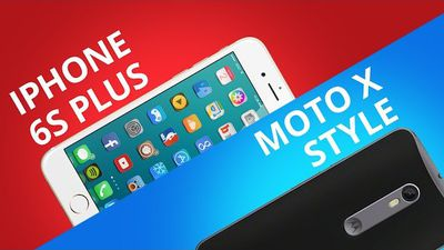 iPhone 6s Plus VS Moto X Style [Comparativo]