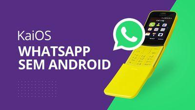 WhatsApp SEM Android: KaiOS