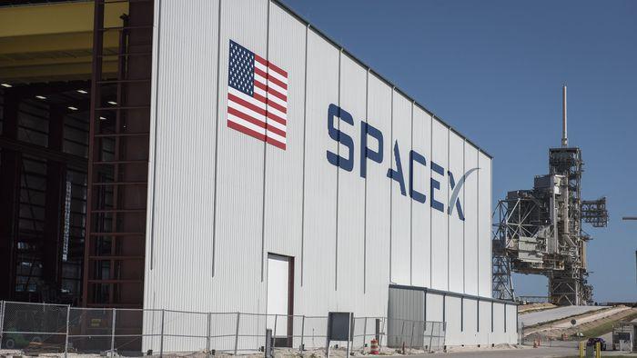 Nova plataforma de lançamento da SpaceX está quase pronta