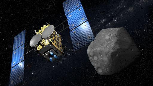 Robô japonês envia fotos da superfície do asteroide Ryugu