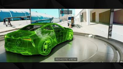 GTC 2018 | Project Wakanda coloca motoristas de verdade em carros autônomos