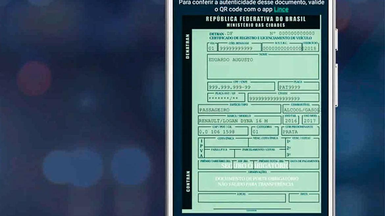 Documentos de registro e transferência de carros passam a ser digitais