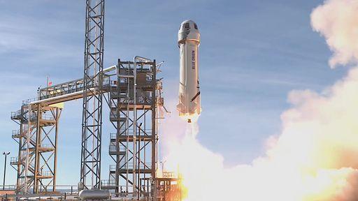 """Em novo teste com foguete New Shepard, Blue Origin realizará """"ensaio"""" de voo"""