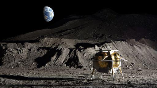 Próximo lander a pousar na Lua desde a era Apollo deverá ser lançado em 2021