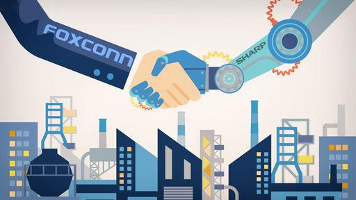 Foxconn chega a acordo para comprar Sharp por US$ 3,5 bilhões
