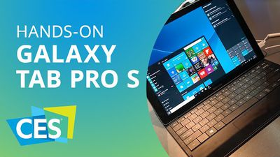 Galaxy Tab Pro S: o concorrente da Samsung para o iPad Pro [Hands-on | CES 2016]