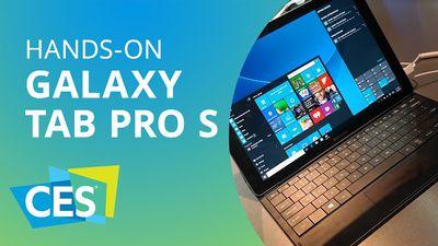 Galaxy Tab Pro S: o concorrente da Samsung para o iPad Pro [Hands-on | CES 2016]