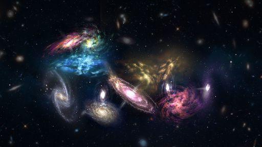 NASA seleciona missões para estudar galáxias, estrelas e colisões cósmicas