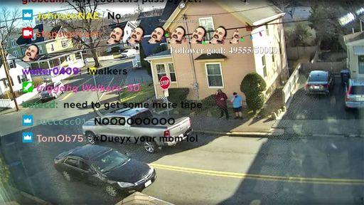 Nova febre da Twitch é acompanhar carros ignorarem uma placa de Pare