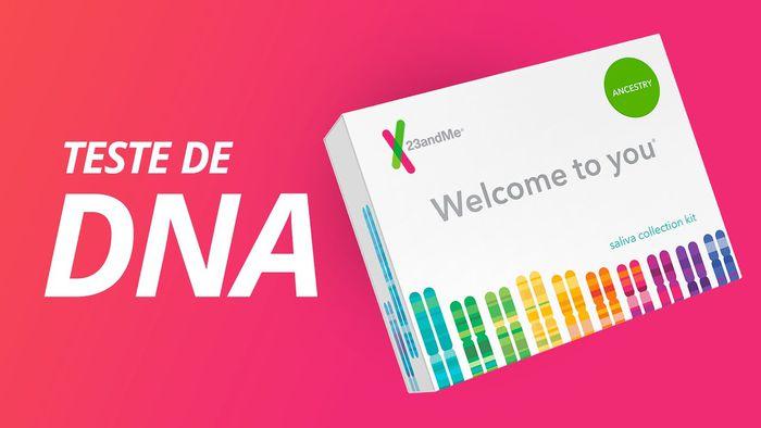 Fizemos o TESTE DE DNA da 23andMe! É SENSACIONAL!