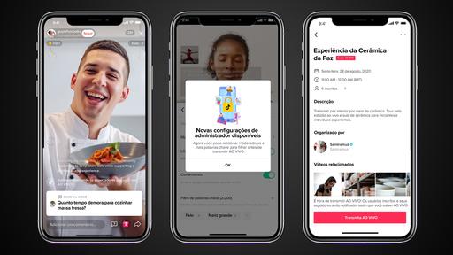 TikTok copia recursos de Instagram, Twitch e YouTube para melhorar suas lives
