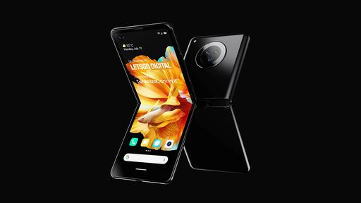 Mi Mix Flip: assim pode ser dobrável da Xiaomi para competir com Galaxy Z Flip
