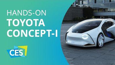"""Toyota apresenta o Concept-i,  carro que quer ser """"seu melhor amigo"""" [CES 2017]"""