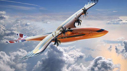 Airbus cria projeto de aeronave inspirada em aves de rapina