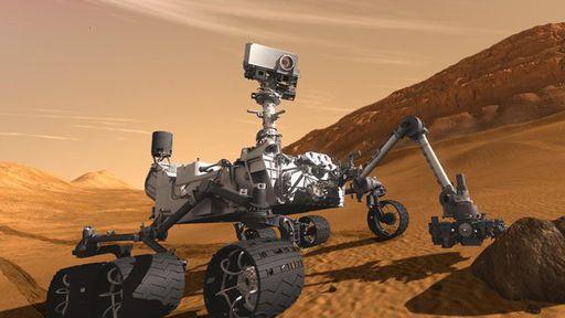 Acompanhe a sonda Curiosity com um aplicativo de realidade aumentada