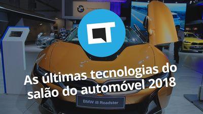 Salão do Automóvel 2018: carros autônomos, híbridos e elétricos