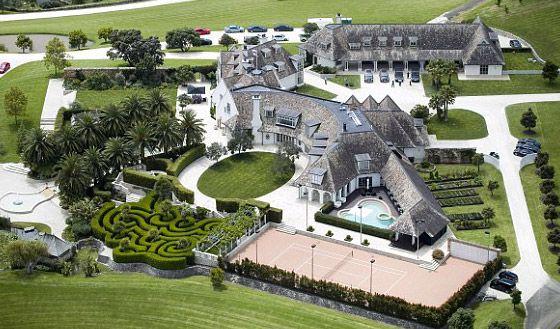 Kim Dotcom mansão