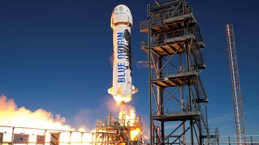 Blue Origin pretende simular a gravidade da Lua em voos futuros