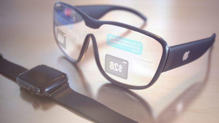 74e4a1bf54ca2 Rumor  Óculos de realidade aumentada da Apple chegam em 2019 com lentes  microLED - RV-RA