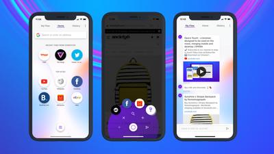 Navegador Opera Touch chega para iPhone e iPad; conheça
