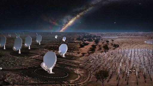 Observatório SKAO é inaugurado com as maiores redes de radiotelescópios