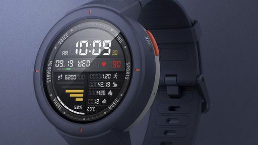 Xiaomi lança novo smartwatch Amazfit Verge