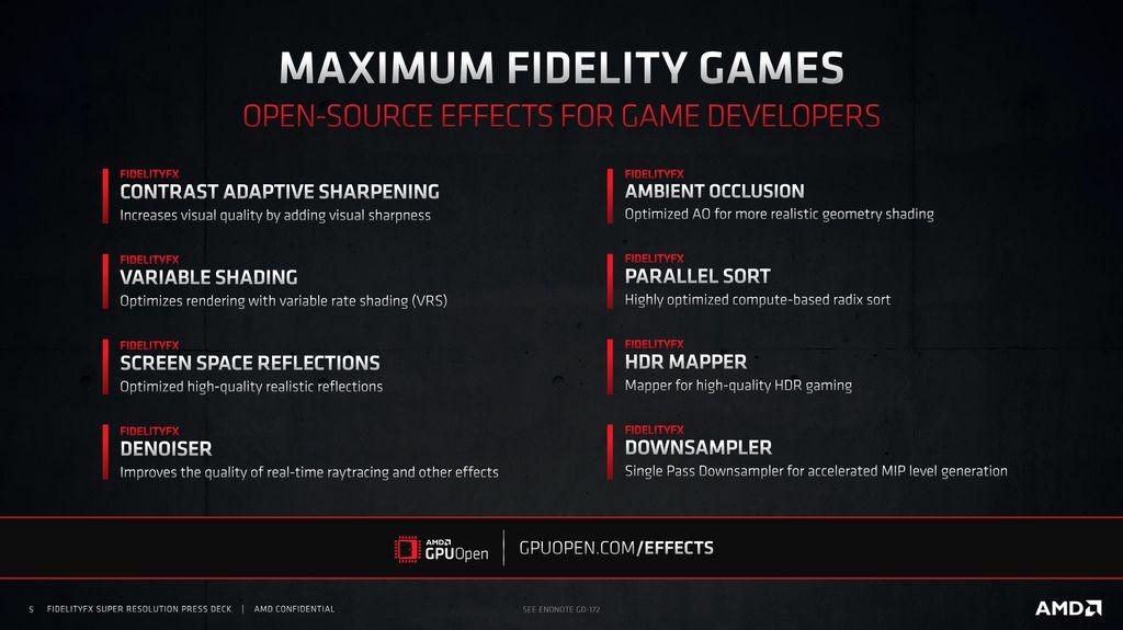 Tecnologias do AMD FSR têm código-aberto para ampliar velocidade de adoção pelas desenvolvedoras