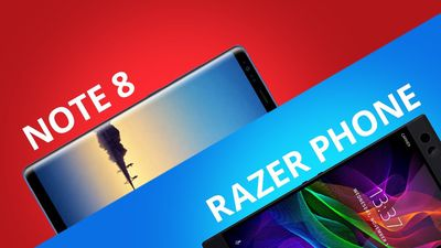 Razer Phone vs Galaxy Note 8 [Comparativo]