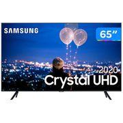 "Smart TV Crystal UHD 4K LED 65"" Samsung - 65TU8000 Wi-Fi Bluetooth HDR 3 HDMI 2 USB"