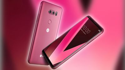 Raspberry Rose: LG apresenta nova cor do smartphone LG V30 na CES 2018