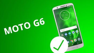 5 motivos para COMPRAR o Moto G6