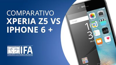 Xperia Z5 VS iPhone 6 Plus [Comparativo | IFA 2015]