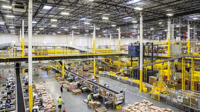 Amazon Pretende Alugar Armaz 233 M Gigantesco Na Regi 227 O De S 227 O